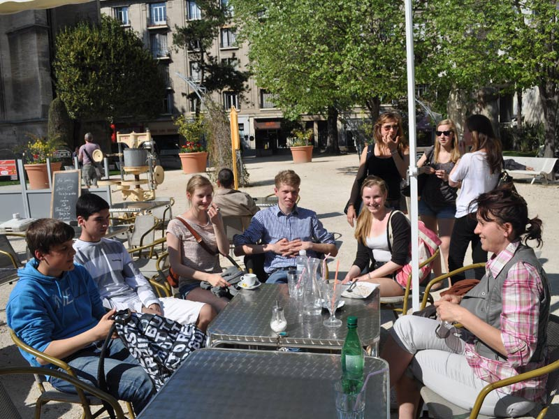 excursion in avignon break time
