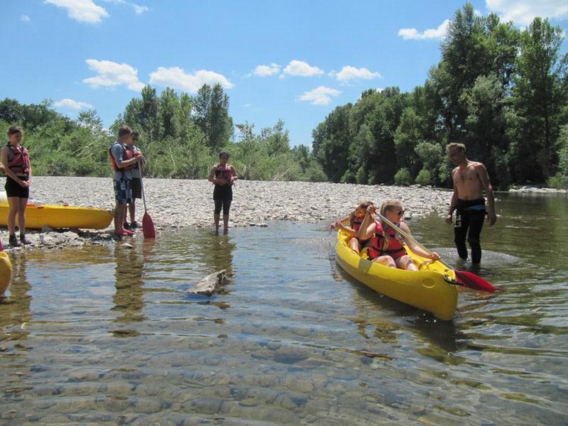 Canoe Activity