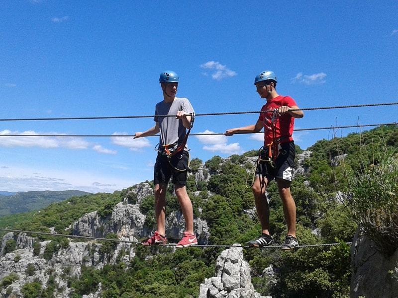 Exchange students via Ferrata