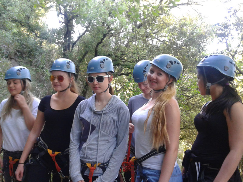 exchange students activities
