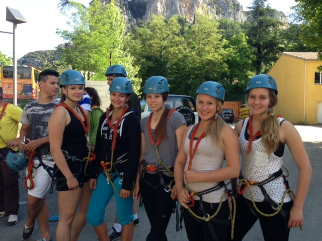 Via ferrata in south of France