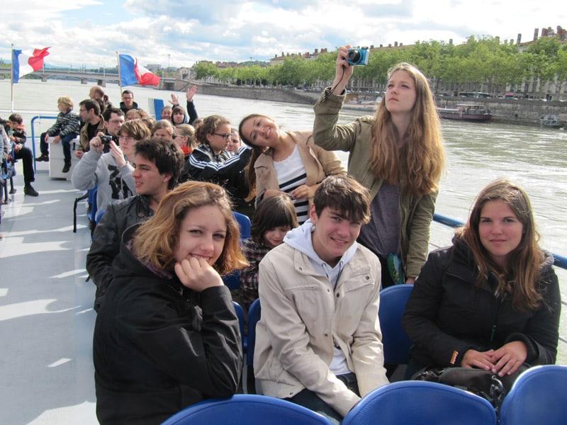 boat tour in Lyon