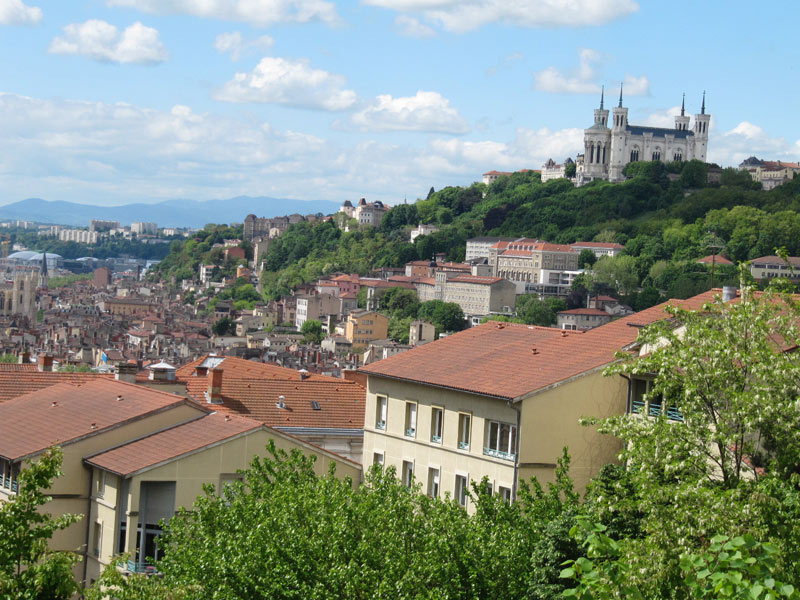 Lyon city vue