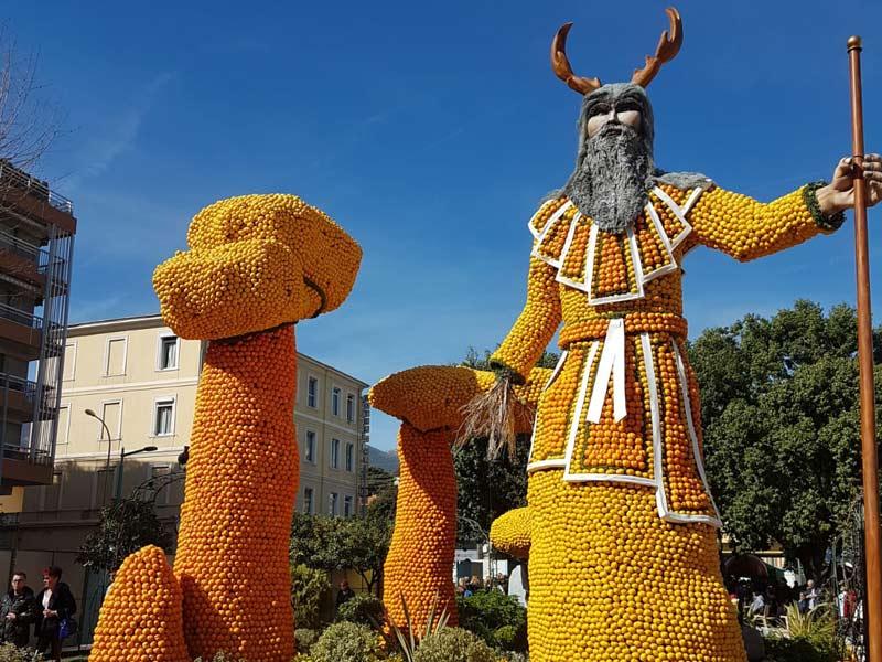 Menton festival Poseidon