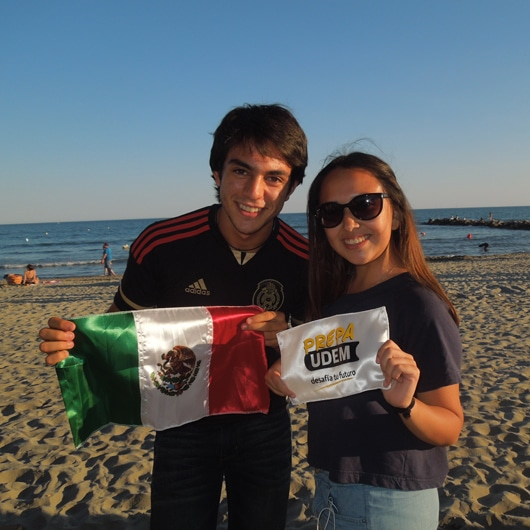 Mexican students in France