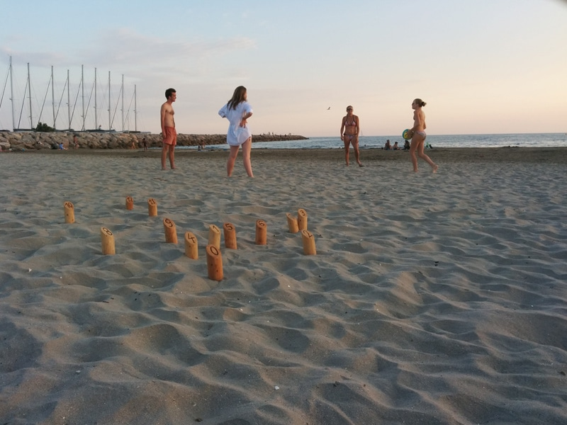 molki party on the beach